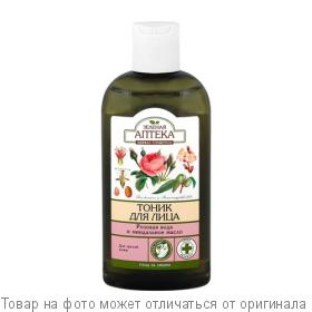 """Зеленая АПТЕКА Тоник для зрелой кожи """"Розовая вода и миндальное масло"""" 200мл, шт"""