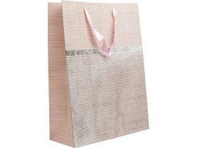 Пакет подарочный ламинированны30*40*12 см, с одностор.блест.крошкой, бумага