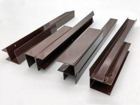 Угол металлический для средней грядки ДПК Holzhof 225мм (ХИТ)
