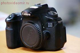 Зеркальный фотоаппарат Canon EOS 60D body подержанный