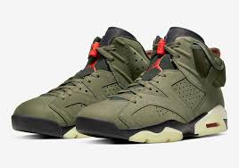 Кроссовки Jordan 6 Retro Travis Scott