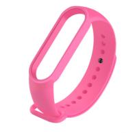 Сменный ремешок на фитнес - трекер Xiaomi Mi Band 5 ( Розовый )