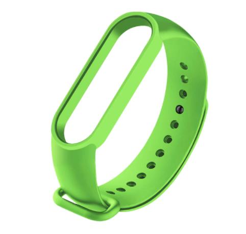 Сменный ремешок на фитнес - трекер Xiaomi Mi Band 5 ( Зеленый )