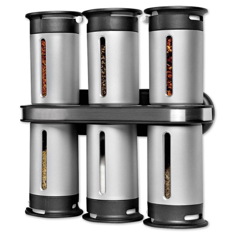 Набор для специй с магнитным держателем (6 предметов)