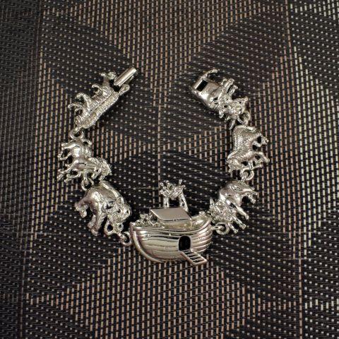 """Браслет """"Ноев ковчег"""" цвет серебра (AJC США)"""