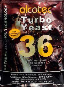Спиртовые турбо дрожжи Alcotec 36 Turbo Classic, 160 г