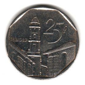 Куба 25 сентаво 1994