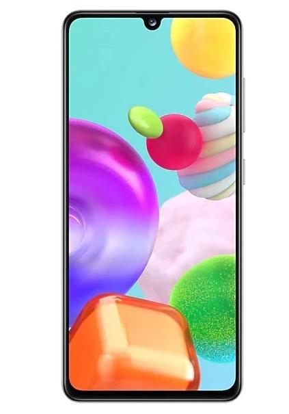 Смартфон Samsung Galaxy A41 white 64Гб (SM-A415FZWMSER)