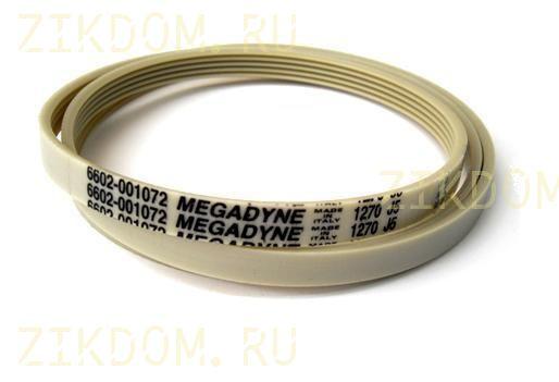 Ремень для стиральной машины Samsung 1270 J5 EL Megadyne