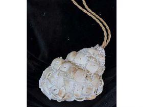 Украшение декоративное РАКУШКА, 9.5 см, полимерный материал, в прозрач.кор