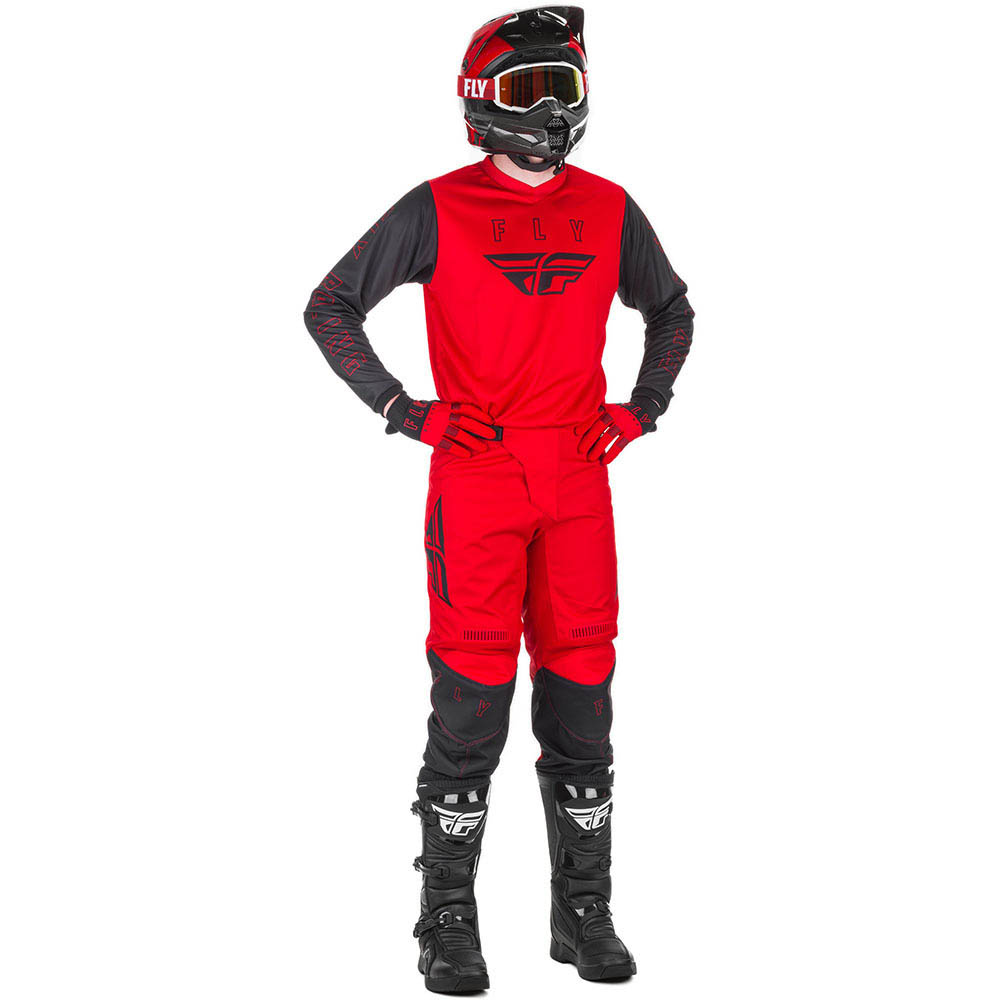 Fly Racing 2021 F-16 Red/Black  комплект джерси и штаны