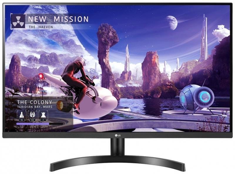 """Монитор LG 27"""" 27QN600-B IPS Black; 2560x1440, 350 кд/м2, 5 мс, 2xHDMI, DisplayPort"""