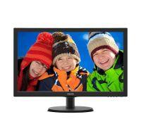 """Монитор Philips 21.5"""" 223V5LHSB2/00 Black; 1920 x 1080, 200 кд/м2, 5 мс, HDMI, D-Sub"""