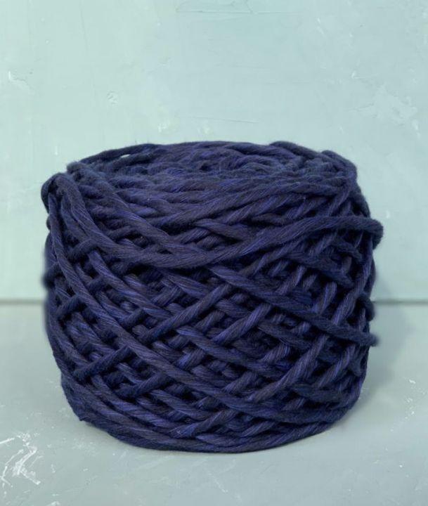 Хлопковый шпагат 5-6 мм Цвет Темно-синий