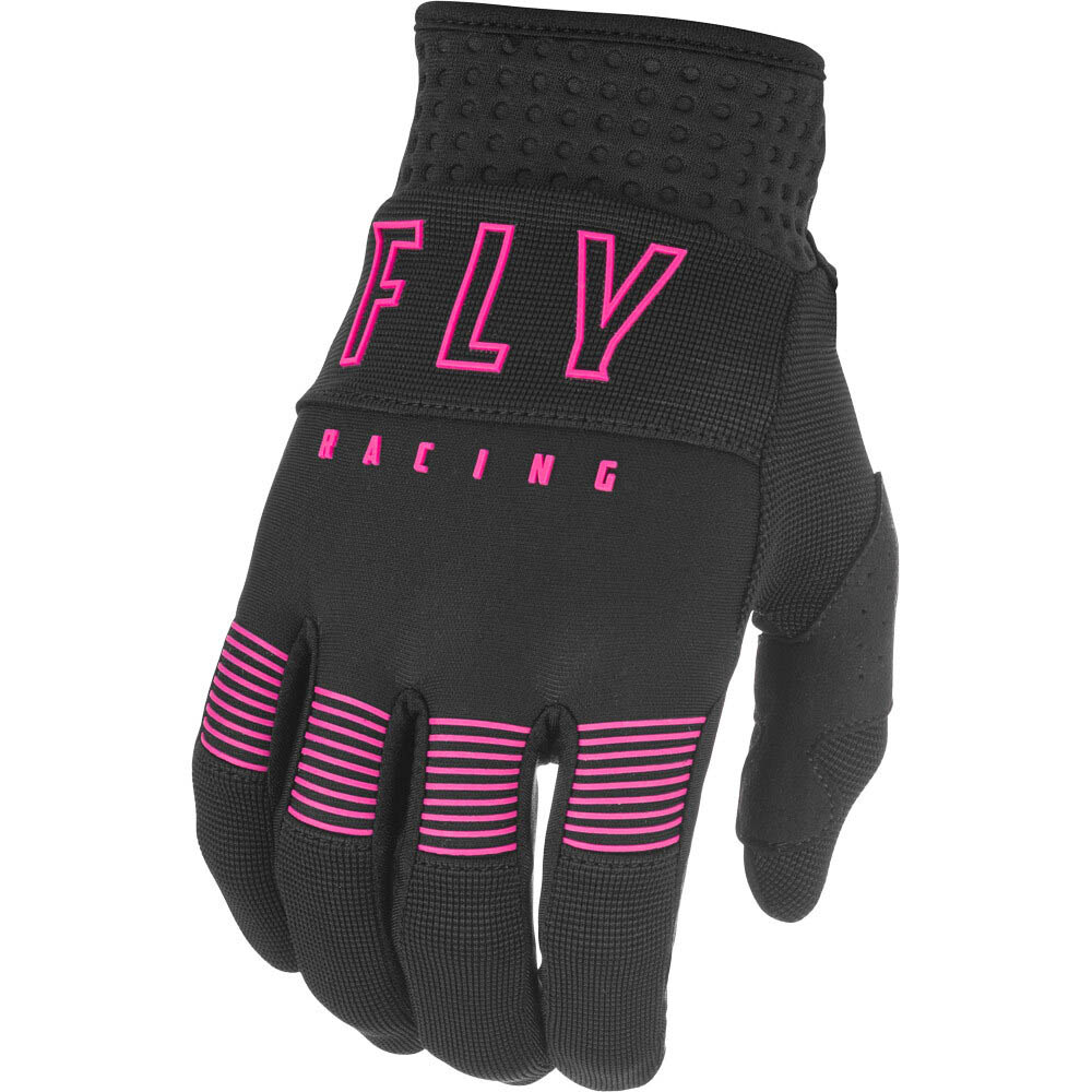 Fly Racing 2021 F-16 Black/Pink перчатки