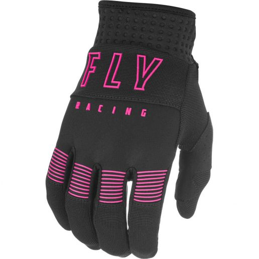 Fly Racing 2021 F-16 Black/Pink перчатки