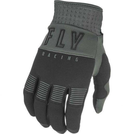 Fly Racing 2021 F-16 Black/Grey перчатки