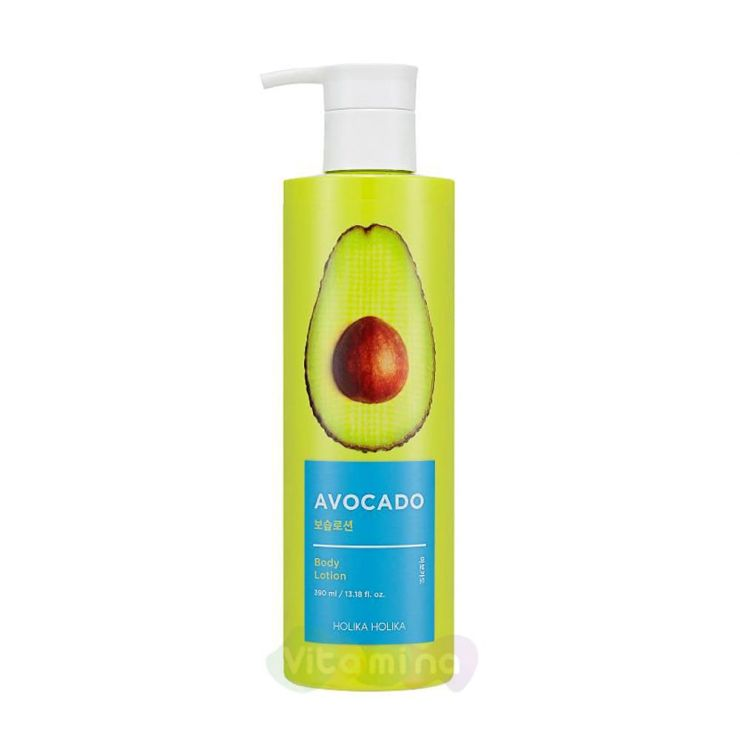 Holika Holika Лосьон для тела с авокадо Avocado Body Lotion, 390 мл