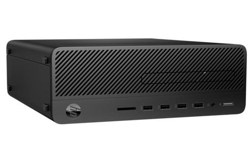 Персональный компьютер HP 290 G2 SFF (9DP05EA); Intel Pentium G5400 (3.7 ГГц) / RAM 4 ГБ / HDD 500 ГБ / INTEL HD Graphics 630 / DVD-RW / LAN / DOS / черный / клавиатура + мышь