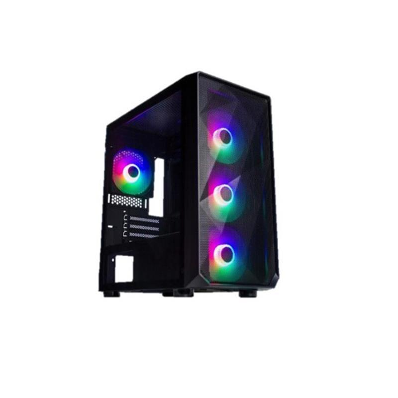 Персональный компьютер Expert PC Ultimate (I10600.16.H1S2.2060S.G1445); Intel Core i5-10600 (3.3 - 4.8 ГГц) / ОЗУ 16 ГБ / HDD 1 ТБ + SSD 240 ГБ / NVIDIA GeForce RTX 2060 Super 8 ГБ / без ОП / LAN / Wi-Fi / Bluetooth / Ubuntu / черный