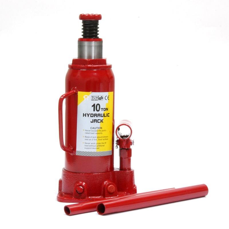 Домкрат гидравлический бутылочный Torin на 10 тонн, T91004