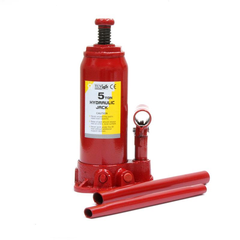 Домкрат гидравлический бутылочный Torin на 5 тонн, T90504