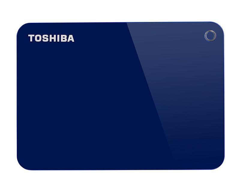 "Накопитель внешний HDD 2.5"" USB 1.0TB Toshiba Canvio Advance Blue (HDTC910EL3AA)"