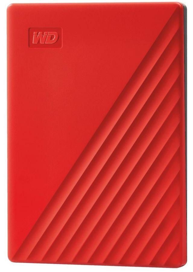 """Накопитель внешний HDD 2.5"""" USB 4.0TB WD My Passport Red (WDBPKJ0040BRD-WESN)"""