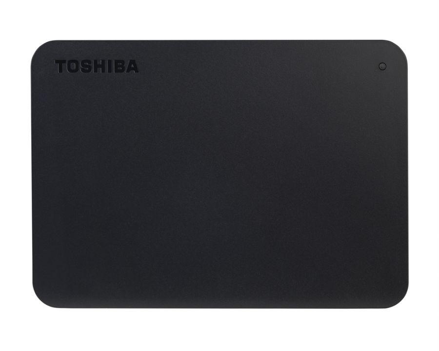 "Накопитель внешний HDD 2.5"" USB  320GB Toshiba Canvio Basics Black (HDTB403EK3AA) Refurbished"