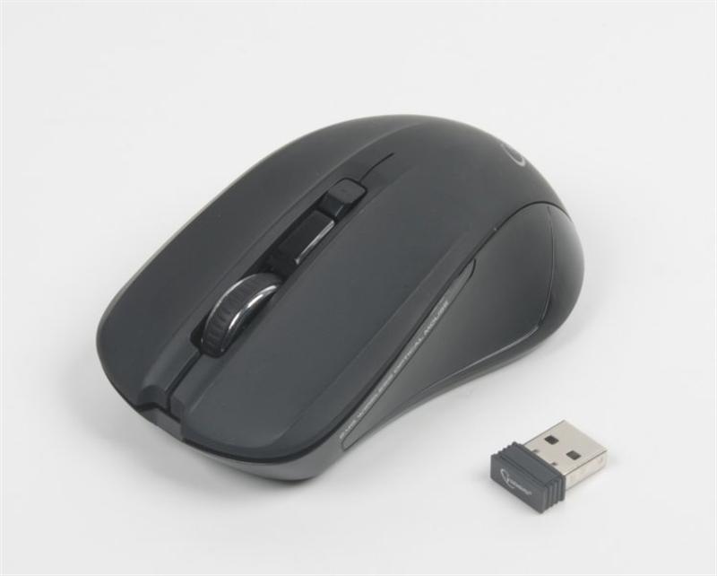 Мышь беспроводная Gembird MUSW-201 Black USB