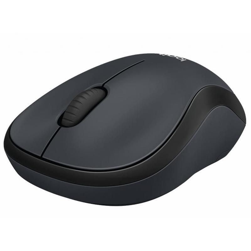 Мышь беспроводная Logitech M220 Silent (910-004878) Charcoal USB