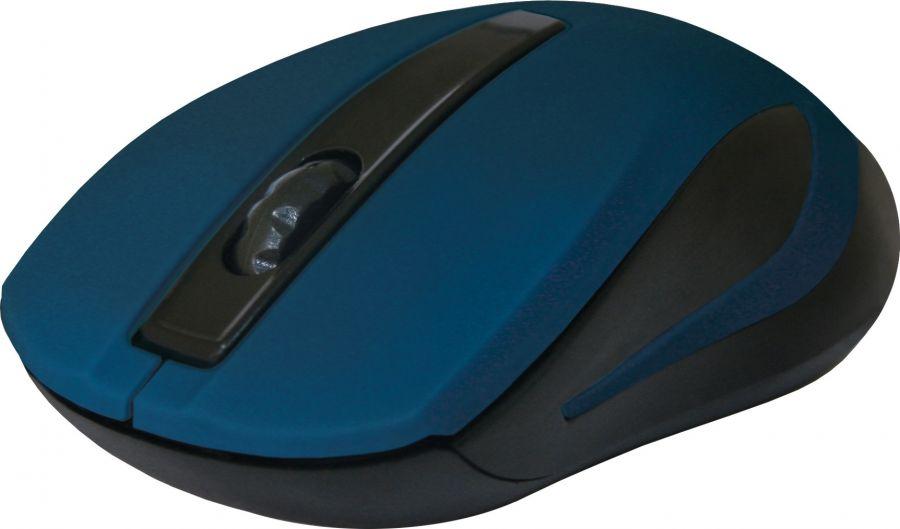 Мышь беспроводная Defender #1 MM-605 (52606) Blue USB
