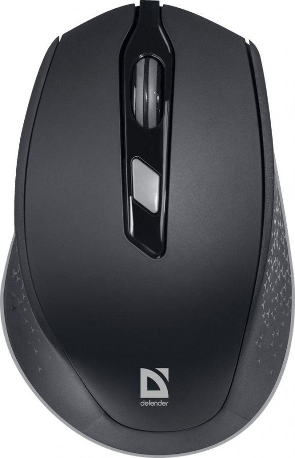 Мышь Defender Genesis MB-785 (52785) Black USB