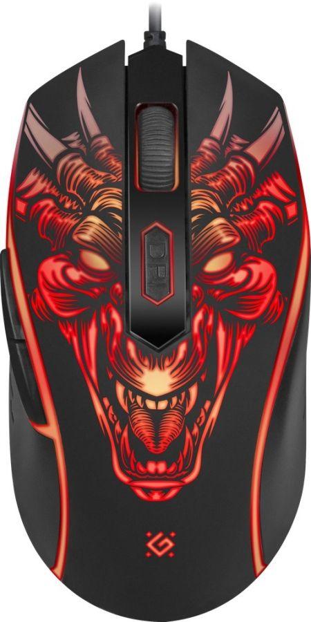 Мышь Defender Monstro GM-510L (52510) Black USB