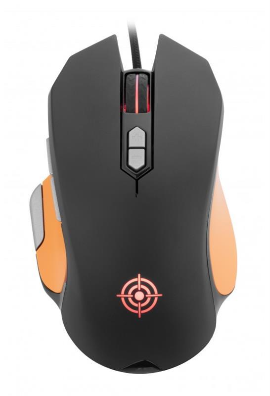 Мышь GamePro Clash GM866 Black USB
