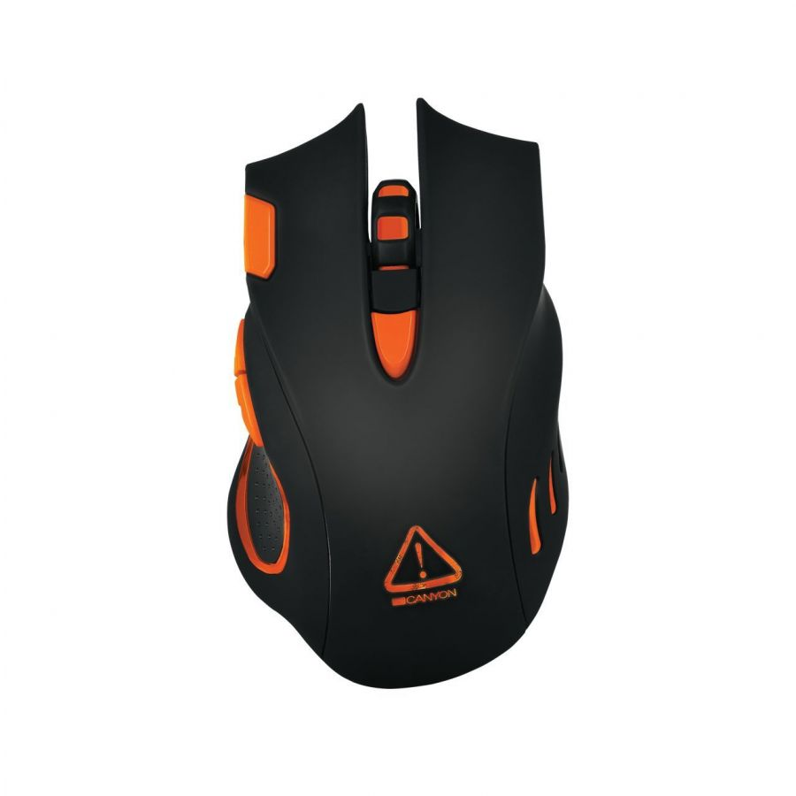 Мышь Canyon Corax CND-SGM5N Black/Orange USB