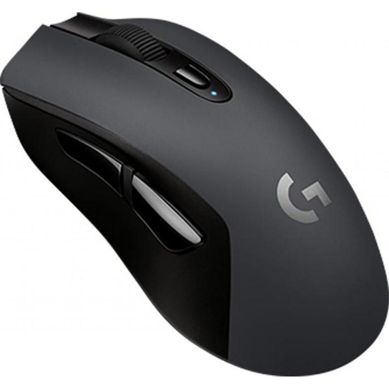Мышь Bluetooth+Wireless Logitech G603 Lightspeed (910-005101) Black