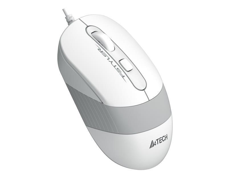 Мышь A4Tech FM10S White USB