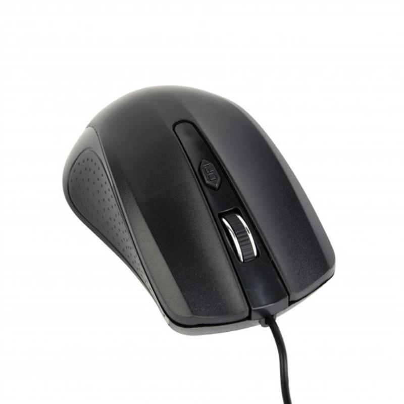 Мышь Gembird MUS-4B-01 Black USB