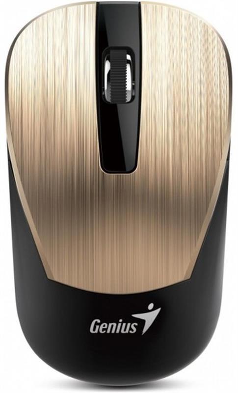 Мышь беспроводная Genius NX-7015 (31030015402) Gold USB