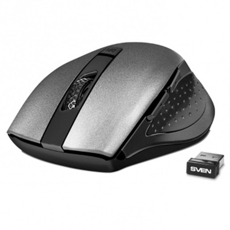 Мышь беспроводная Sven RX-425W Gray USB