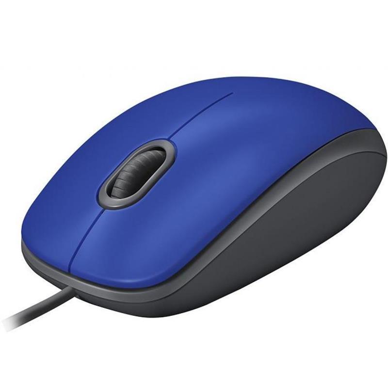Мышь Logitech M110 Silent (910-005488) Blue USB