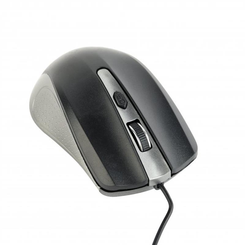 Мышь Gembird MUS-4B-01-GB Black/Grey USB