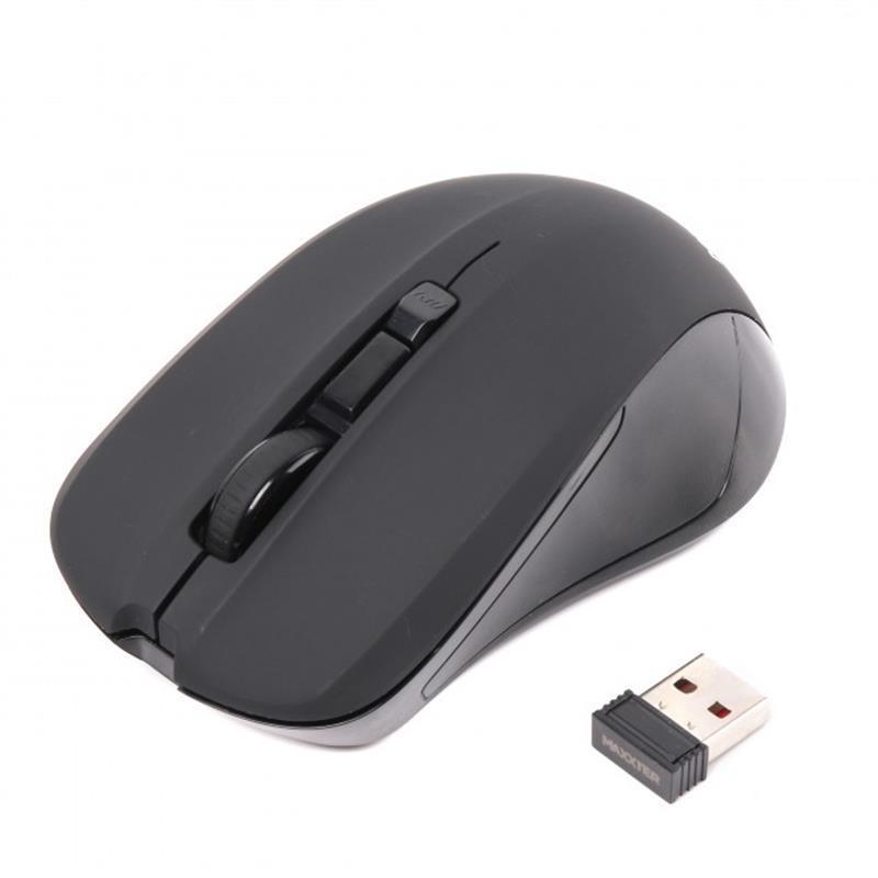 Мышь беспроводная Maxxter Mr-337 Black USB