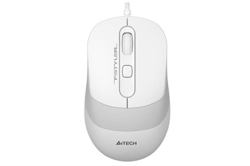 Мышь A4Tech FM10 White USB