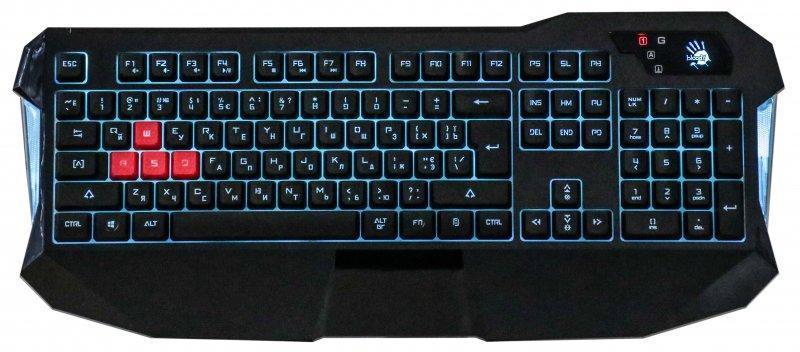 Клавиатура A4Tech Bloody B130 Black USB