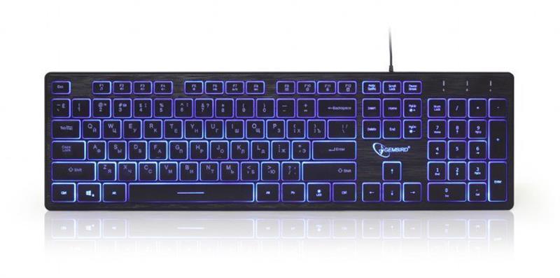 Клавиатура Gembird KB-UML3-01-RU Black USB