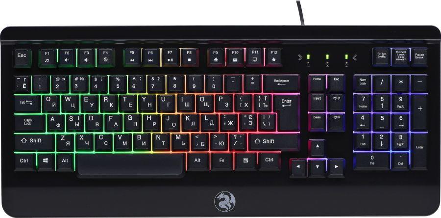 Клавиатура игровая 2E Gaming KG320 LED USB Black (2E-KG320UB)