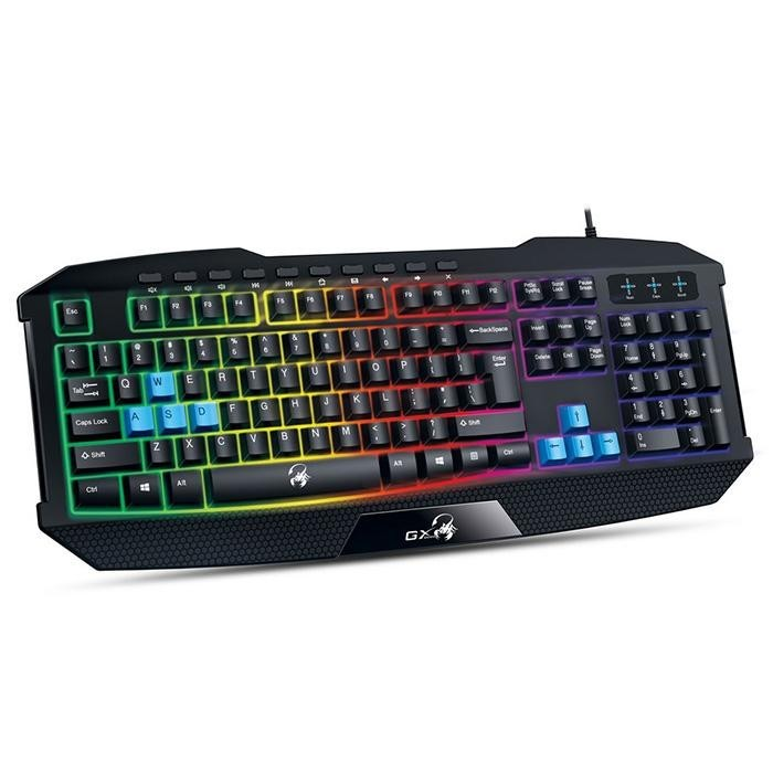 Клавиатура Genius Scorpion K215 Black, USB, UKR (31310474105)