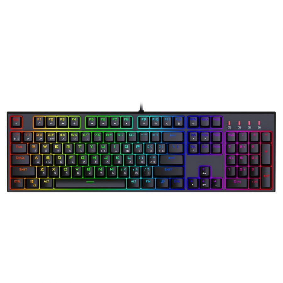 Клавиатура 1stPlayer DK5.0 RGB Outemu Red (DK5.0-RD) USB